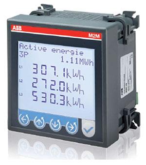 Многофункциональный измерительный прибор M2M, производства АББ