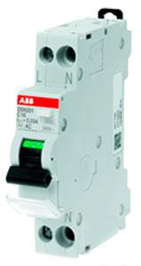 Автоматический выключатель дифференциального тока DSN201, производства АББ
