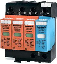Модуль грозовой защиты PU II 3+1R 280V/40кА (арт. 8859720000) компании Weidmuller