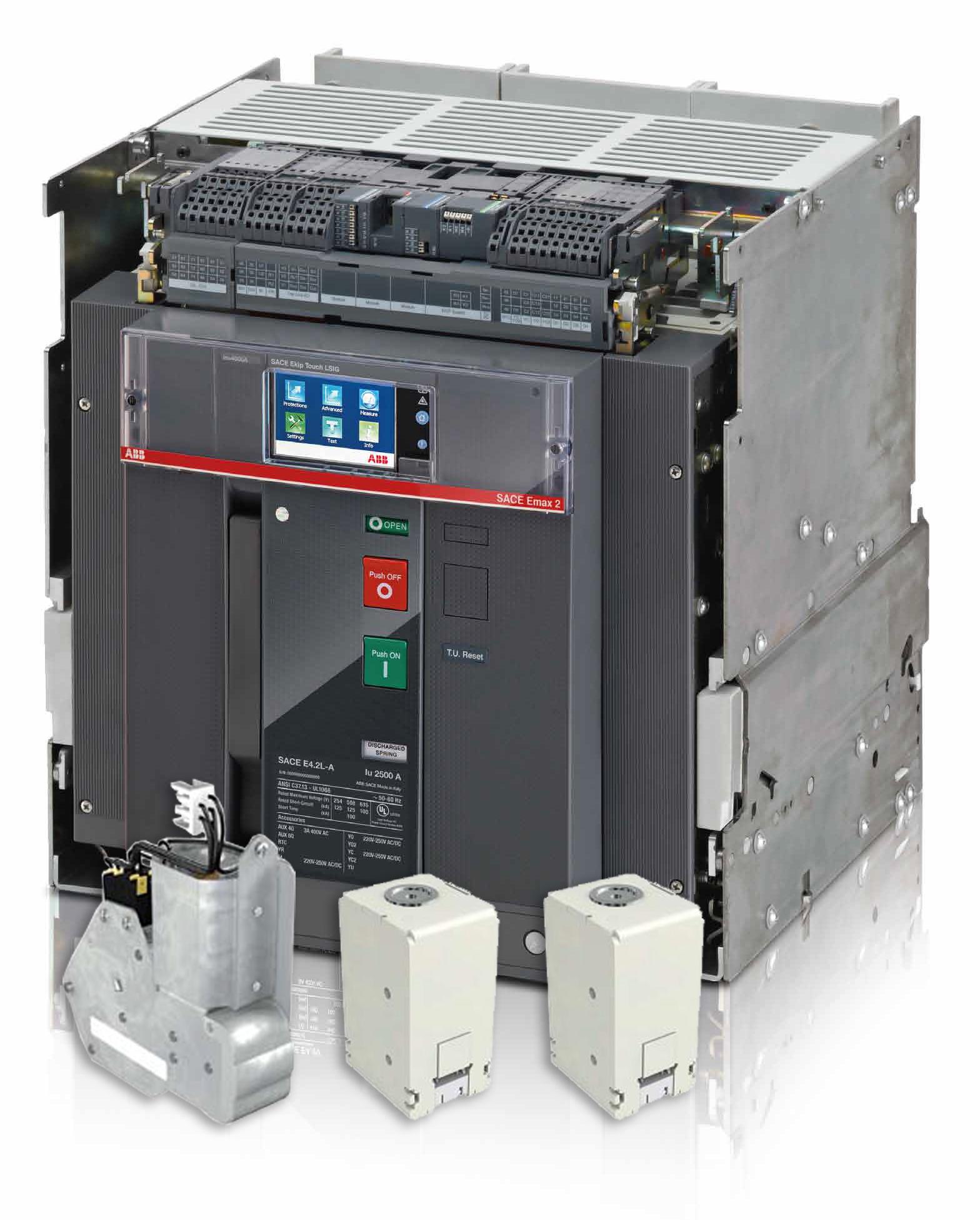 Автоматический выключатель Emax 2 с аксессуарами