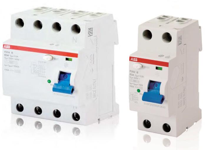 Модульные автоматические выключатели дифференциального тока серии DS203NC