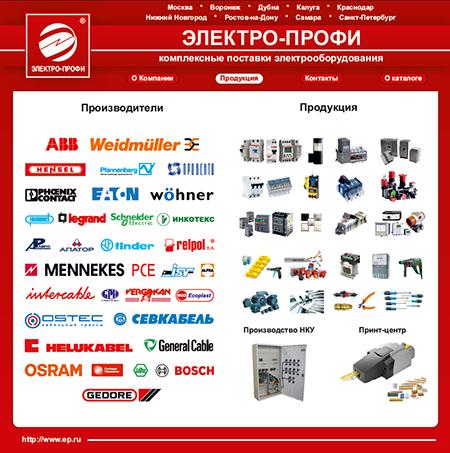 Каталог продукции Электро-Профи 2014/2015